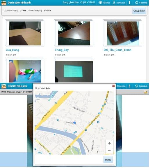 Hình ảnh và vị trí hình ảnh bán hàng