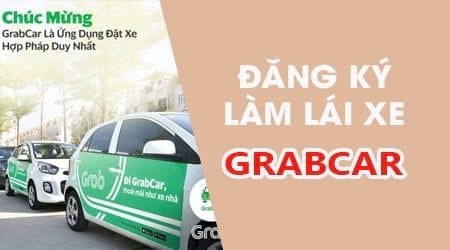 Các loại xe nào được đăng ký chạy dịch vụ grabcar