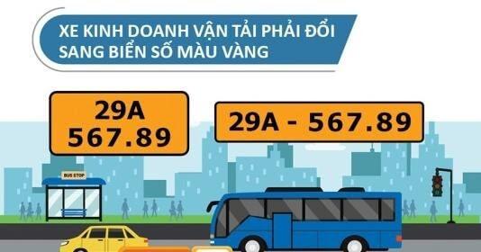 Việc đổi biển số sẽ không cần mang xe đến cơ quan