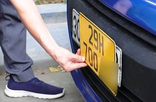 Theo quy định mới cần thực hiện đổi biển số vàng đối với xe kinh doanh vận tải
